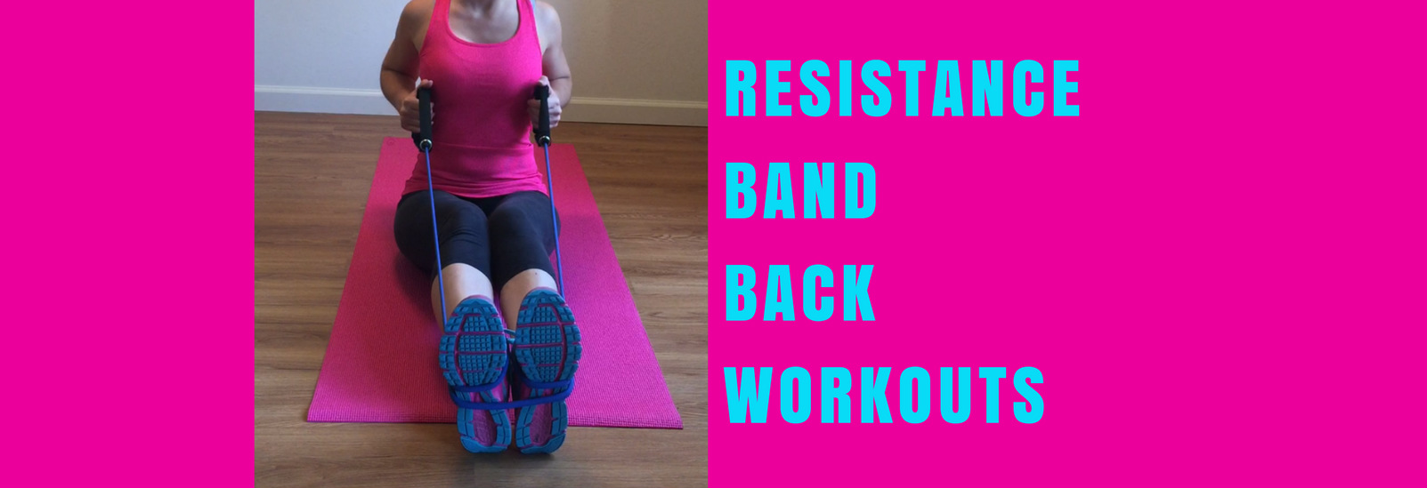 Resistance band back workouts