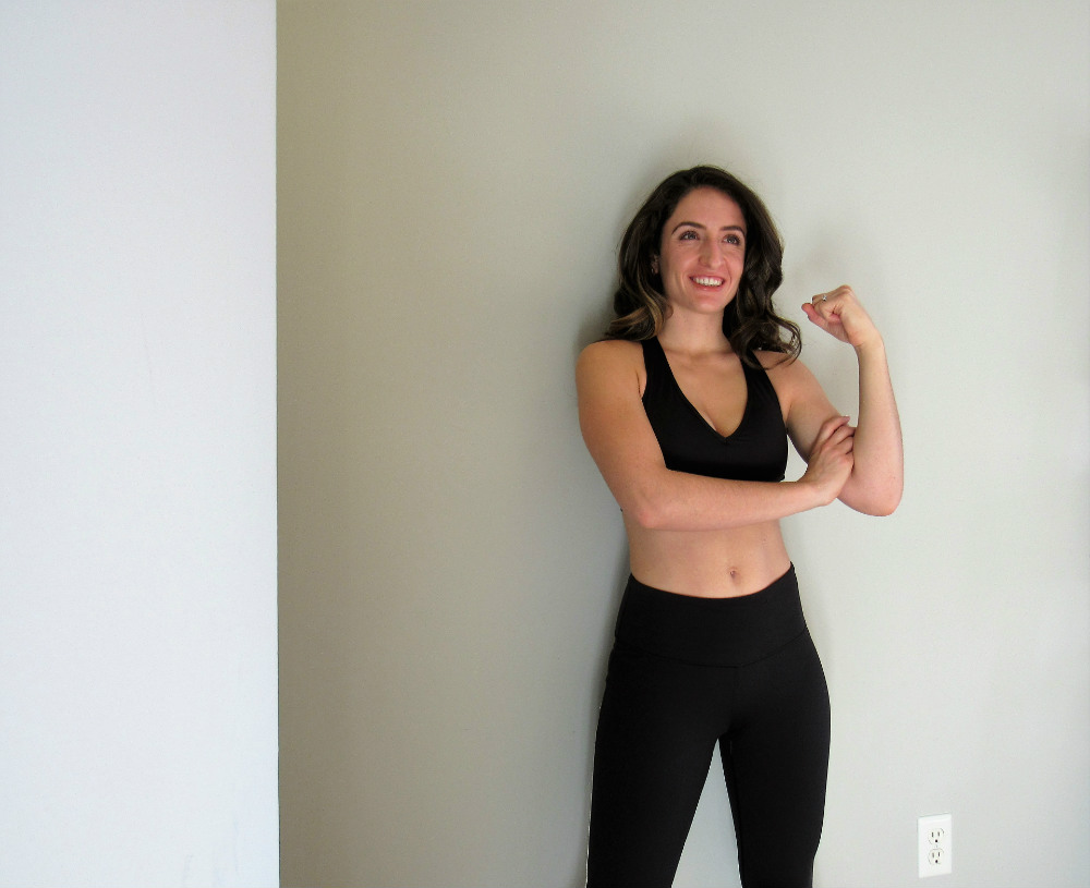 Fitness instructor learning how to give feedback