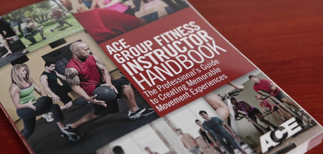 ACE Group Fitness Certification handbook