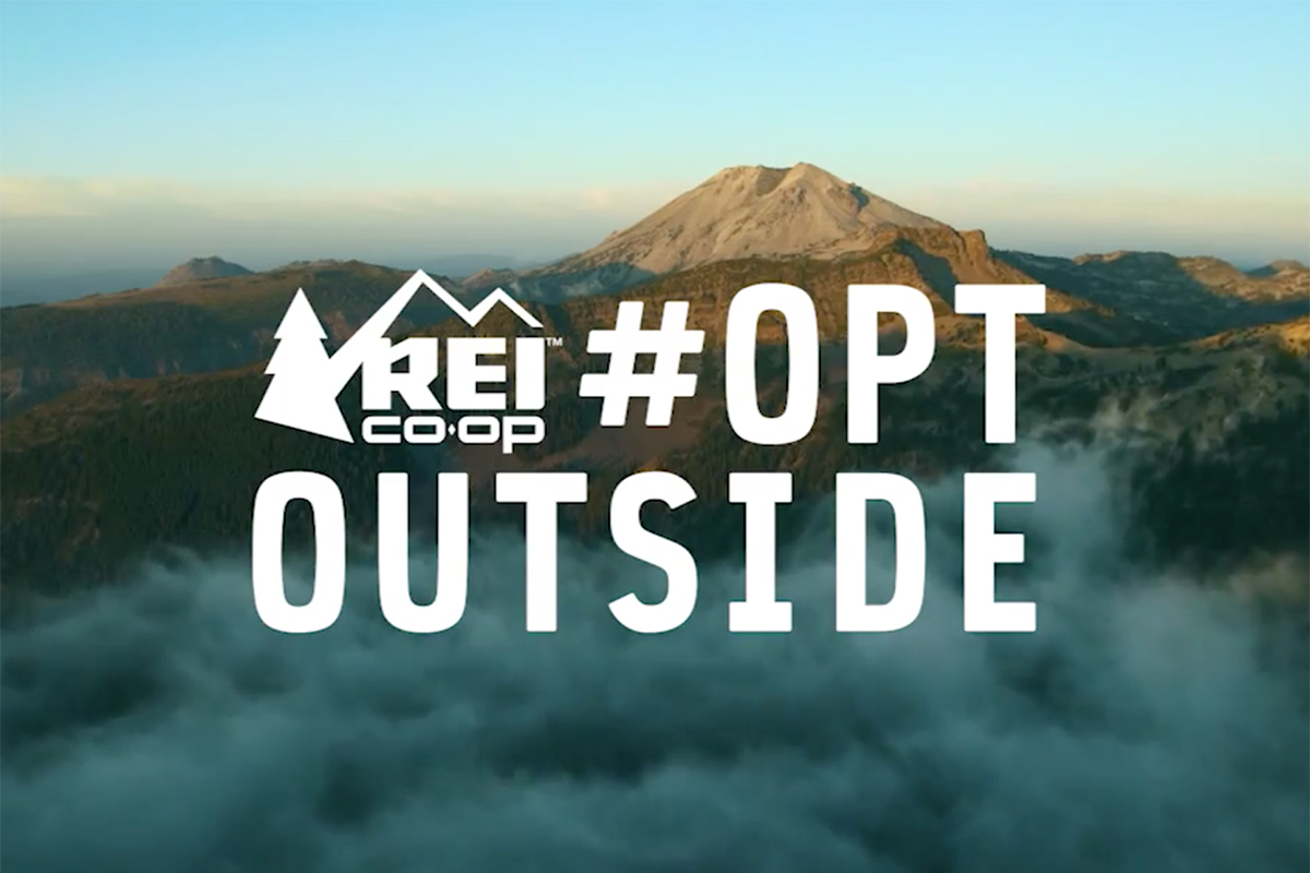 REI #OptOutside