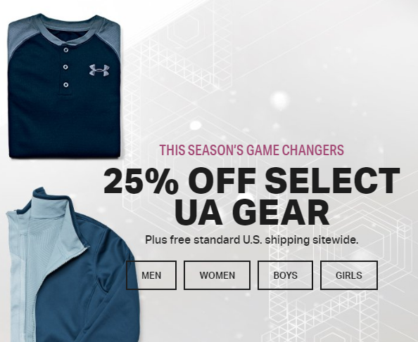 Under Armour Black Friday Sales Ad