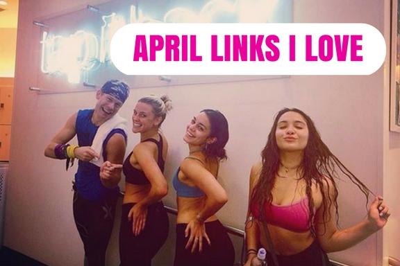 April Links I Love for Fitness Instructors